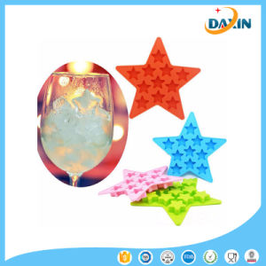 Creative Star Shape Silicone Ice Mold Silicone Popsicle Mold pictures & photos