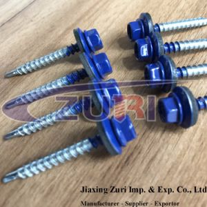 Roofing Screw 4.8X38 Ral 5002 pictures & photos
