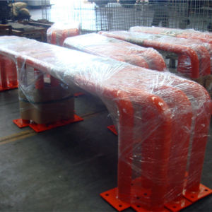 Safety Pipe Barrier for Pallet Rack pictures & photos