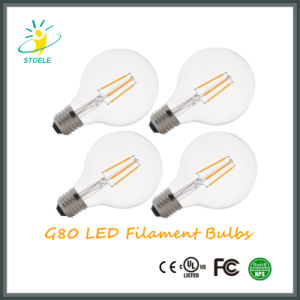 G25/G80 Global Energy Saving LED Filament Bulb Edison Style pictures & photos