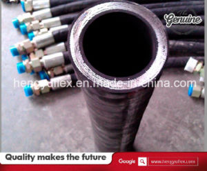 Wheel Loader Hydraulic Hose R15 Hydraulic Spiral Hose Pipe pictures & photos