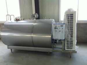 Milk Cooling Vat with USA Compressor Milk Refrigerating Tank pictures & photos