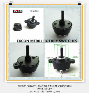 Rotary Switch for Home Appliance with 1 to 10 Position Switch pictures & photos
