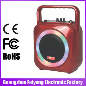 Feiyang/Temeisheng Mini Rechargeable Bluetooth Active Speaker with Colourful LED Light --F105s pictures & photos