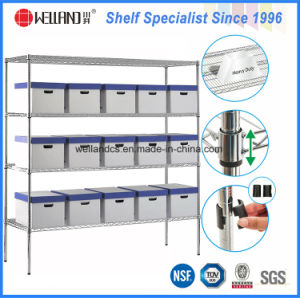 Industrial Storage Equipment NSF Heavy Duty Adjustbale Steel Warehouse Wire Rack pictures & photos