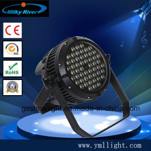 High Quality 54*3W Indoor RGBW PAR 64 LED Stage Lighting pictures & photos