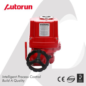 Wenzhou Manufacturer Shutoff Explosion Proof Type Motorized Actuator pictures & photos