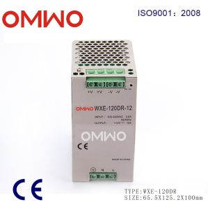 Aluminum Alloy Shell Wxe-120dr-12 DIN Rail Power Supply pictures & photos