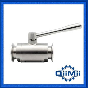 Sanitary Stainless Steel Manual Handle Clamp Ball Valve Dn10-Dn100 pictures & photos