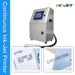 Fully Automatic Continuous Inkjet Printer for cosmetic Box (EC-JET1000) pictures & photos