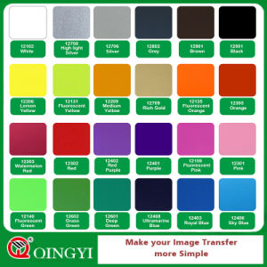Bright Red Qingyi Heat Transfer Vinyl pictures & photos
