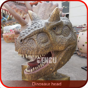Wall Hanging Resin Dinosaur Head Suppliers pictures & photos