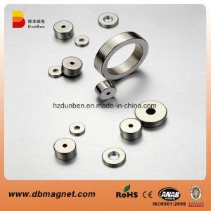 N30sh-N45sh Ring Permanent Neodymium Motor Magnet pictures & photos
