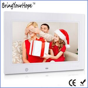 "7"" Digital Photo Frame Player with Infra Red Sensor (XH-DPF-070I) pictures & photos"