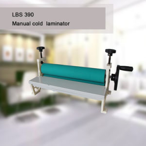 "LBS390 A3 15.3"" Desktop Manual Cold Laminator Machine factory price pictures & photos"