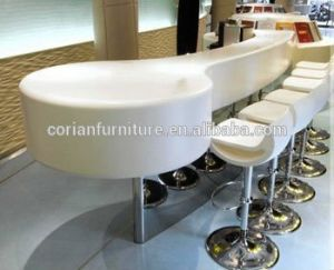 Acrylic Solid Surface Restaurant Dining Table pictures & photos