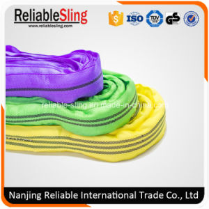 2t Polyester Rigging Hoist Endless Soft Round Sling pictures & photos