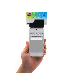 Magnetic Card and EMV Chip Card Reader MCR02 with Free Software and Sdk, Mobile Card Reader pictures & photos