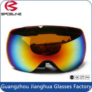 Women Snow Ski Skiing Snowboard Goggles Glasses Eyewear Double Anti-Fog Lens pictures & photos