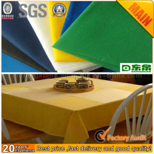 Disposable Biodegradable Spunbond Table Cover pictures & photos