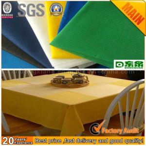 Disposable Biodegradable Spunbond Table Cover pictures & photos