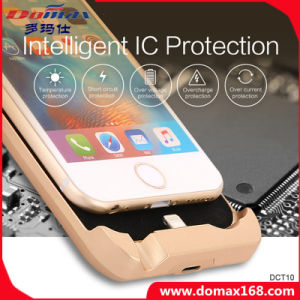 Mobile Lithium Battery Wireless Charger Case Power Bank for iPhone 6 pictures & photos