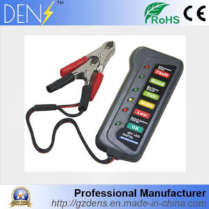 12V LED Digital Battery Tester for Car Motorcycle Trucks pictures & photos