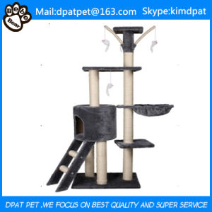 New Products 2017 Classical Cat Tree Sale with Toy pictures & photos