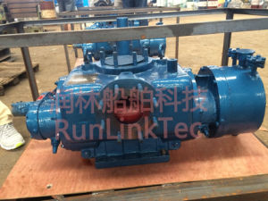 Twin Screw Pump for Oil-Gas Mixed Transportation/Twin Screw Pump/Gas-Oil/Marine Eqipment pictures & photos
