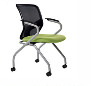 Black Plastic Back Mesh Upholstery Seats Traning Chair (NS-5CH017) pictures & photos