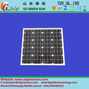 18V 120W 125W Mono Solar Panel (2017) pictures & photos