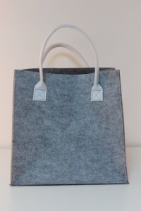 Felt Laundry Bag with 2 Handles pictures & photos