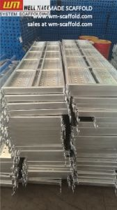 500mm Scaffold Walk Board Frame Access Metal Deck pictures & photos