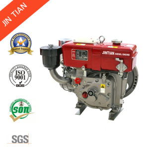 Small Agriculture 4-Stroke Water Cooled Single Cylinder Diesel Engine (R175A) pictures & photos