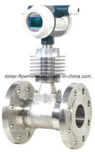 Vortex Shedding Flowmeter for Steam Gas and Liquid pictures & photos