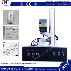 High Beam Quality Fiber Laser Marking Machine for Watch Rear Cover pictures & photos