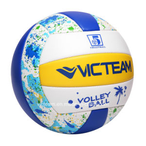 Cost-Effective 2.7mm PVC Sponge Stitched Volleyball pictures & photos
