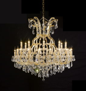 Decoration Hotel Project Crystal Chandelier Lighting (KA2049-36L) pictures & photos