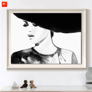 Black and White Woman Portrait Wall Decor pictures & photos