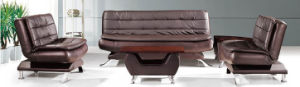 Modern Europe Design Steel Metal Leather Waiting Office Sofa (NS-S908) pictures & photos