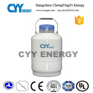 Transportable Lab Liquid Nitrogen Cryogenic Dewar Flask for Milk Transportation pictures & photos