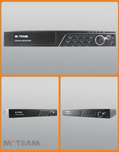 P2p Audio Alarm Supported HD 3MP 16 Channel DVR Recorders (6516H300) pictures & photos