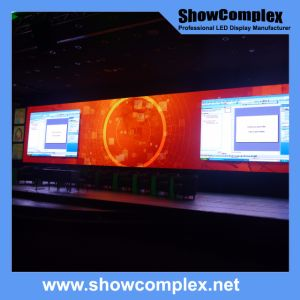 Slim Full Color Outdoor Indoor Full Color Rental LED Video Screen (500*500mm/500*1000mm P3.9) pictures & photos