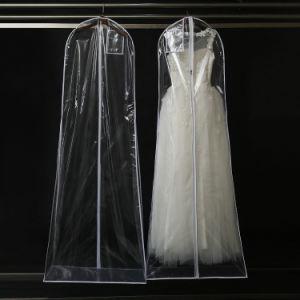 PVC Plastic Transparent Dress Storage Dust Proof Cover Bag pictures & photos