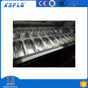 Stylish and Affordable Premium Ice Cream Scooping Freezer pictures & photos