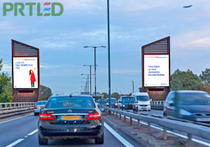 Outdoor P5/P6 Full Color Advertising LED Display Banner (single/double-sided) pictures & photos