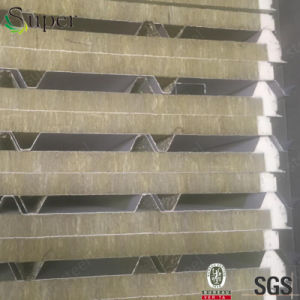 Rock Wool Insulation Sandwich Panel for Building Wall&Roof Panels pictures & photos