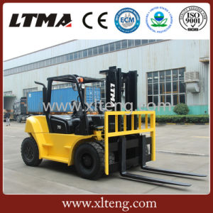 Forklift Machines 7 Ton Diesel Forklift with Side Shifter pictures & photos