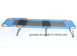 Collapsible Steel Folding Bed for Camping, Beach pictures & photos
