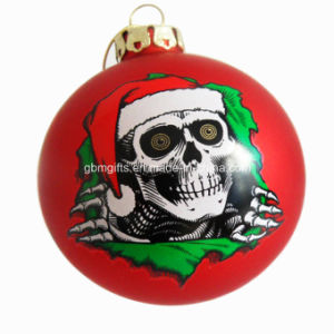 Charming Promotional X′mas Glass Sphere, Fashionable, Hot Sale pictures & photos